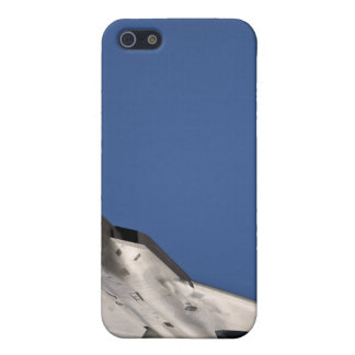 An F-22 Raptor aircraft iPhone 5 Cases