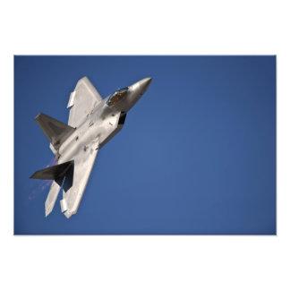 An F-22 Raptor aircraft Photo Print