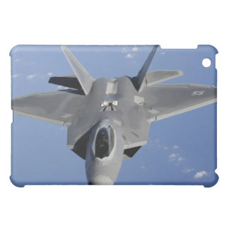 An F-22 Raptor moves into position to receive f 2 Case For The iPad Mini