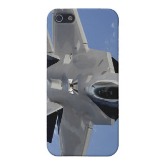 An F-22 Raptor moves into position to receive f 2 iPhone 5/5S Cover