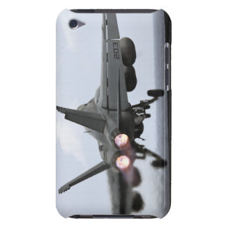 An F/A-18E Super Hornet launches iPod Touch Covers
