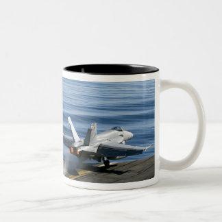 An F/A-18E Super Hornet Mug