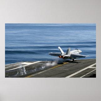 An F/A-18E Super Hornet Poster