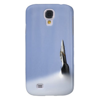 An F/A-18E Super Hornet reaches the speed of so Samsung Galaxy S4 Case