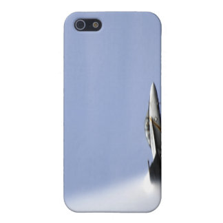 An F/A-18E Super Hornet reaches the speed of so Cover For iPhone 5/5S
