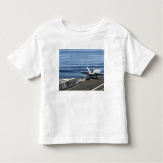 An F/A-18E Super Hornet Toddler T-Shirt