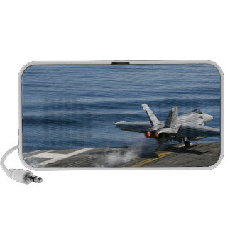 An F/A-18E Super Hornet Travel Speaker
