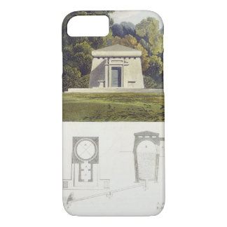 An Ice House, from Ackermann's 'Repository of Arts iPhone 8/7 Case