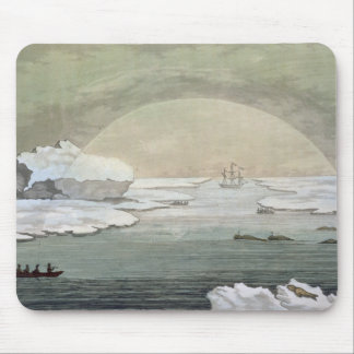 An iced-in British whaleboat is liberated by the s Mouse Mat
