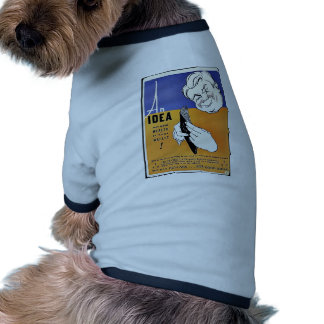 An Idea, Wealth In Your Wallet Doggie Tee Shirt