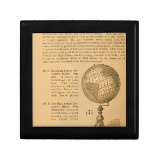 An illustrated manual for the use of the globe gift box