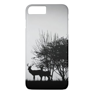 An image of some deer in the morning mist iPhone 8 plus/7 plus case