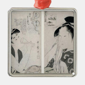 An impertinent woman,series Kyokun oya no Christmas Ornament
