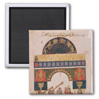 An Indian astrological chart Magnet