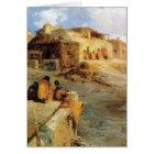 An Indian Pueblo Laguna New Mexico - 1906 Card