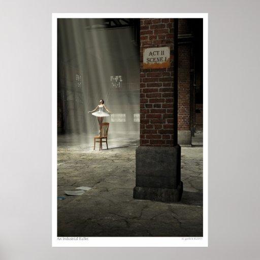 An Industrial Ballet Poster