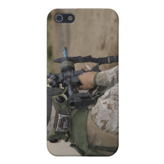 An infantry scout case for iPhone 5/5S