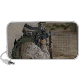 An infantry scout speaker