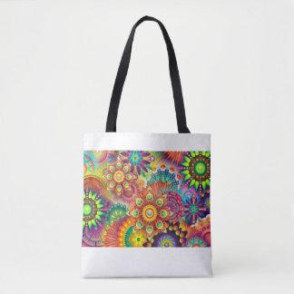 An interesting bag for girls with an original patt