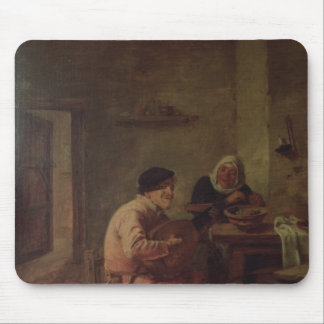 An Interior with Figures Mouse Mat