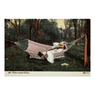 An Interrupted Story Repro Vintage 1910 Posters