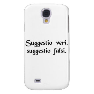 An intimation of truth, an intimation of falsity. galaxy s4 cases