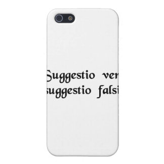 An intimation of truth an intimation of falsity iPhone 5 covers