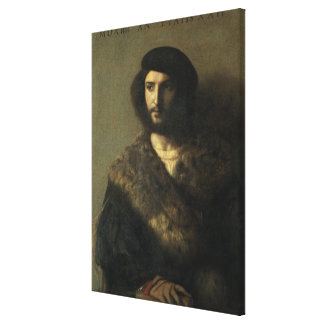 An Invalid, c.1514 (oil on canvas) Canvas Print