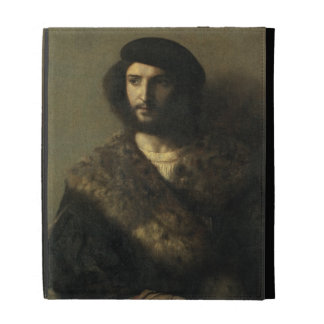 An Invalid, c.1514 (oil on canvas) iPad Cases