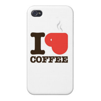 An iPhone case for all you coffee lovers! (Glossy) Cases For iPhone 4