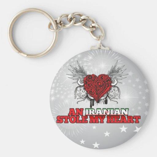 An Iranian Stole my Heart Key Chain