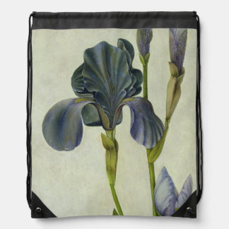 An Iris Drawstring Bag