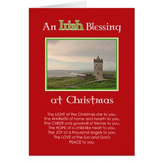 An Irish Blessing at Christmas-Custom photo card