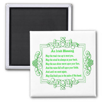 An Irish Blessing Magnet