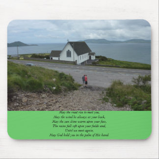 An Irish Blessing Mouse Pad