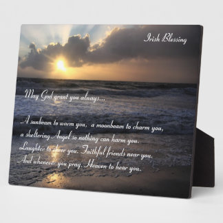 An Irish Blessing Plaque