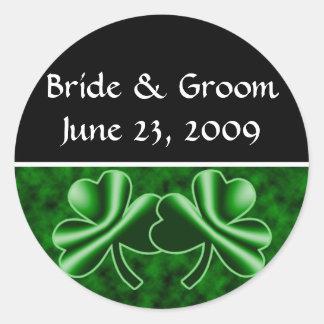 An Irish Wedding Round Sticker