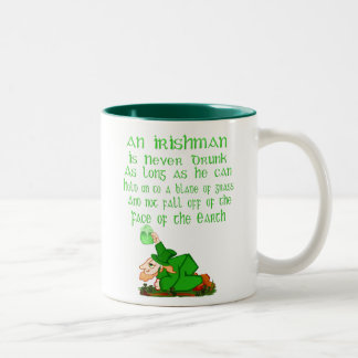 An Irishman Is Never Drunk.... Mug