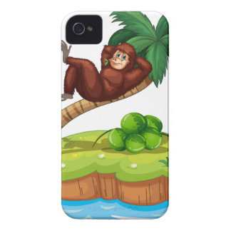 An island with a gorilla iPhone 4 cases