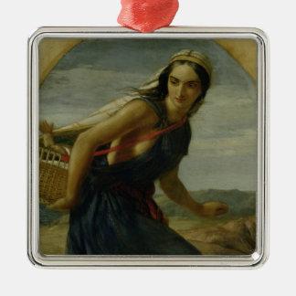 An Israeli Mother, 1857/1860 Christmas Ornament
