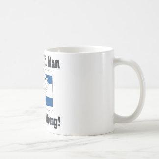 An Isralei Man Is Never Wrong Basic White Mug
