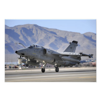 An Italian Air Force AMX fighter Photo Print