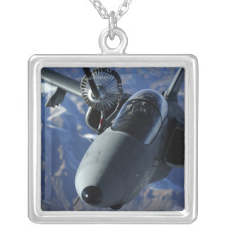 An Italian AMX is refueled by a KC-10A Extender Silver Plated Necklace