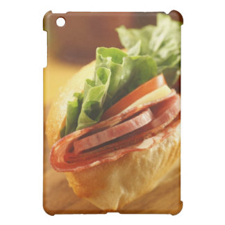 An Italian sub sandwich with iPad Mini Case