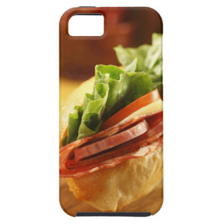 An Italian sub sandwich with iPhone 5 Covers