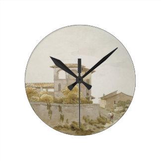 An Italian Villa Round Clock