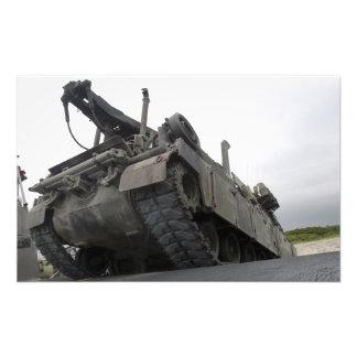 An M88A2 Hercules Recovery Vehicle Photo Print