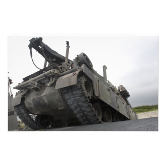 An M88A2 Hercules Recovery Vehicle Photographic Print