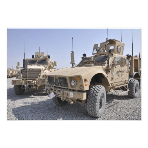 An M-ATV Mine Resistant Ambush Protected vehicl 2 Photo