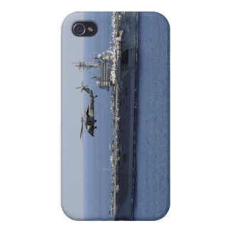 An MH-60S Seahawk helicopter iPhone 4 Covers